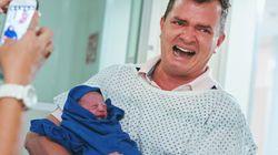 아이가 태어나는 순간, 아빠들의 표정을 담다