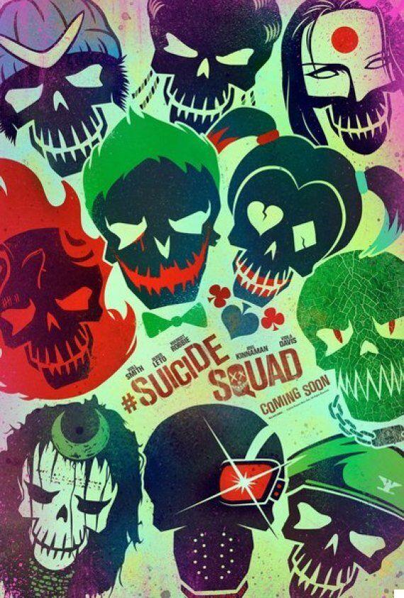 영화 '수어사이드 스쿼드'의 새 포스터가