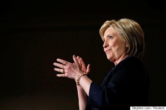 힐러리 클린턴, 미국 민주당 대선후보로 '사실상'