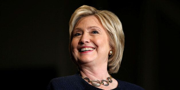 Democratic U.S. presidential candidate Hillary Clinton smiles at a campaign event in San Jose, California,...