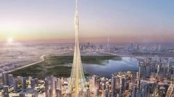 세계에서 가장 높은 '부르즈칼리파' 보다 100m 더 높은 건물이