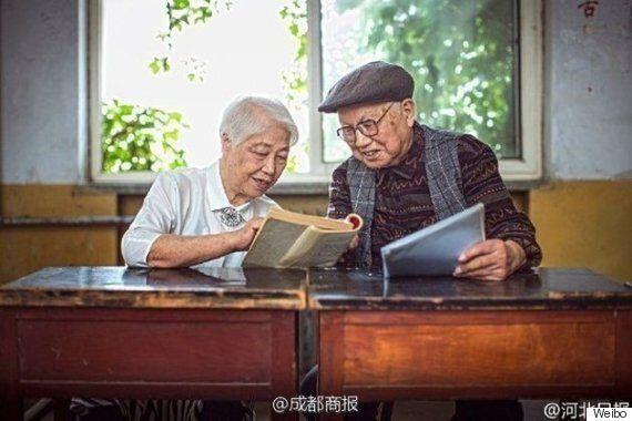 95세 부부가 '변치 않는 사랑'을 사진으로 증명했다