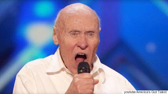 '아메리카 갓 탤런트', 82세 할아버지의 록 스피릿에 관객이