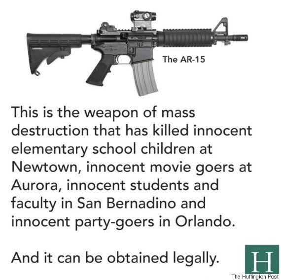 총기 난사범은 이번에도 AR-15 소총을