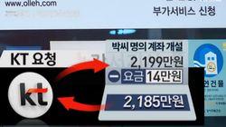 전화 2대에 2천만 원 부과한 KT의 기상천외한