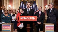미국 의회가 '총기규제법' 표결에