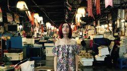 한 달 넘게 한국에서 영화 '옥자'를 촬영 중인 릴리 콜린스의 신기한 여행(사진