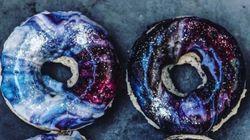 눈을 뗄 수 없는 '우주 도넛'이