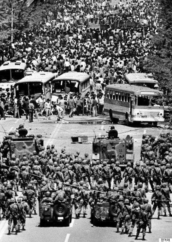 5·18 때 집단발포 공수여단이 6·25 기념 퍼레이드에 참여할