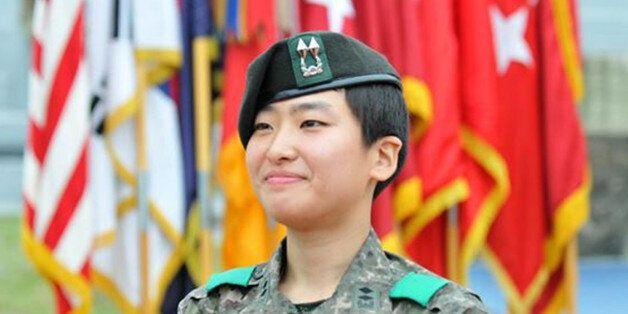 한미 '최정예 전투원' 합격한 정지은
