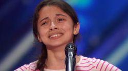 '아메리카 갓 탤런트'의 13세 소녀가 심사위원들을