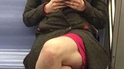 지하철에서 찍힌 이 사진을 본 모두가 충격에