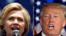 힐러리-트럼프는 서로를 '재앙'이라고