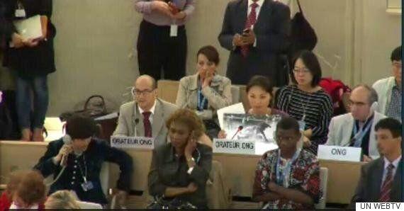 '의식불명' 백남기씨 딸이 유엔 인권이사회에 참석해 한