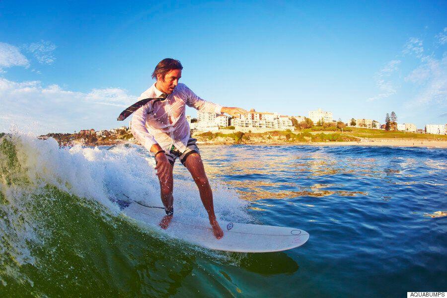 서핑으로 정신 건강을 회복하는 사람들의 이야기(화보,