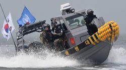 불법조업 중국어선 차단에 유엔군까지