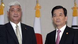국방장관 핫라인 설치, 한국과 일본의 발표가