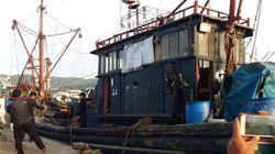 연평도 어민들이 중국 불법 조업 어선을 직접