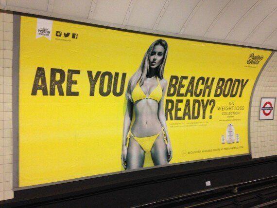 사디크 칸 런던시장, 대중교통 비현실적인 몸매 광고 규제