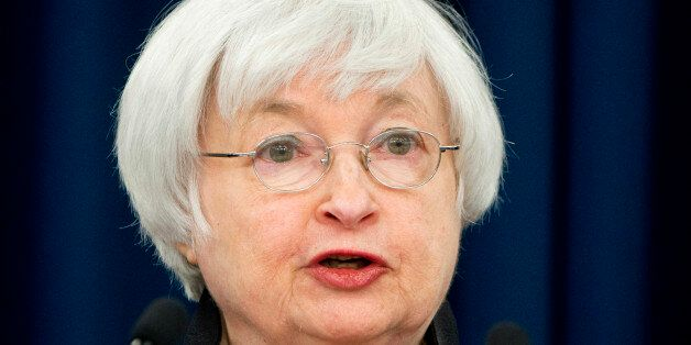 Federal Reserve Chair Janet Yellen speaks during a news conference after the 2016 Federal Open Market...