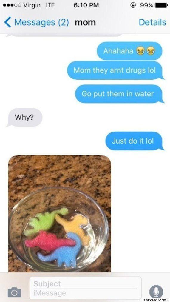 딸의 방에서 마약을 찾은 엄마는 충격에