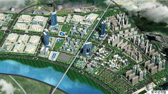 평택에 '중국 친화 도시'를 조성하는 계획이