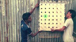 방글라데시의 발명가가 전기가 필요 없는 에어컨을