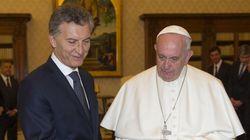 프란치스코 교황이 아르헨티나 대통령의 기부금을 거절한