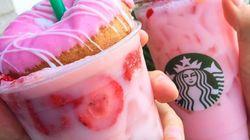 스타벅스의 '핑크 드링크'가 인스타그램을 휩쓸고