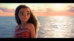 디즈니의 새 영화 '모아나'의 티저 트레일러가 공개됐다
