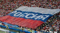 러시아 축구팬들이 유로2016에서