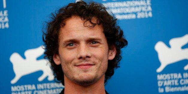 Cast member Anton Yelchin arrives on the red carpet for the