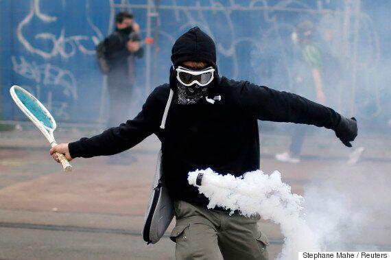 프랑스 노동법 개정안 반대 시위의