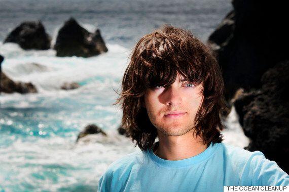 [허핑턴 인터뷰] 21세 청년 '보얀 슬랫'의 기적적인 바다 청소 기술이 곧 실제로