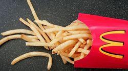 감자튀김만 파는 맥도날드가