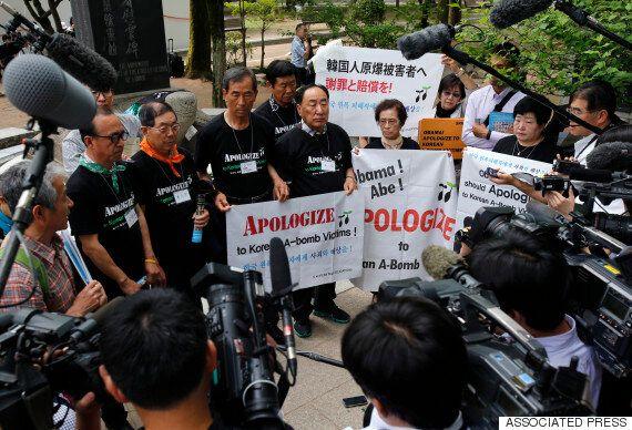 한국인 히로시마 피폭자들도 오바마 대통령에게 사과를