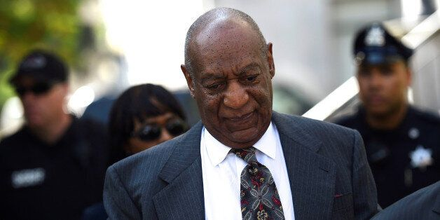 Actor and comedian Bill Cosby arrives at the Montgomery County Courthouse for a pre-trial hearing on...