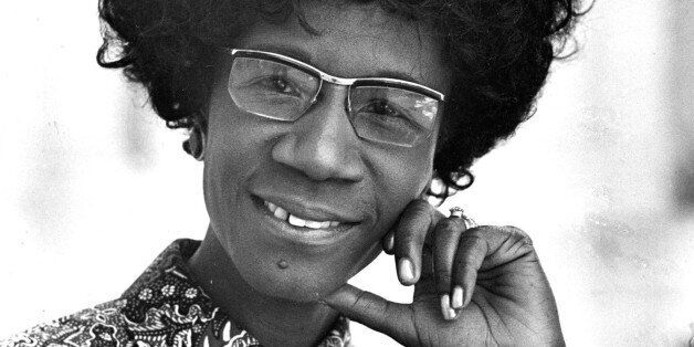 ** FILE ** Congresswoman Shirley Chisholm, D-N.Y., is seen in this 1971 file photo. Chisholm, the first...