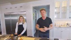 집에서 요리하는 고든 램지의 모습은