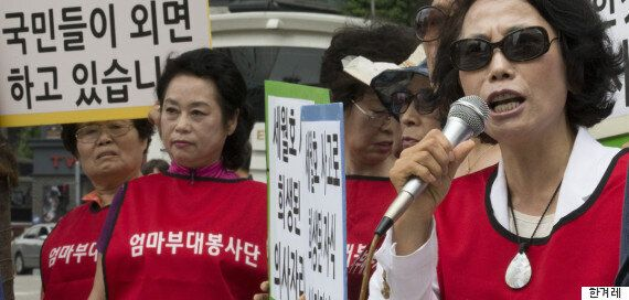 구의역 사고 희생자 빈소에 '엄마부대봉사단'이