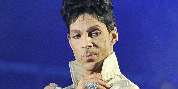 Prince (Prince Rogers Nelson) 'The Artist Formerly Known as Prince', 'TAFKAP' Hop Farm Festival, Paddock...
