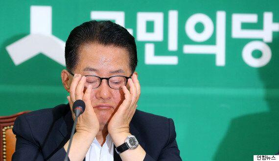 박지원은 반기문을 향해