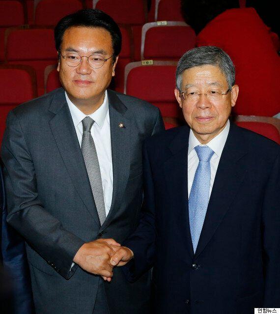 김무성 사퇴 50일 만에 새누리당 임시 지도부 '혁신비대위'가