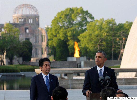 오바마, '히로시마' 한국인 원폭 희생자를 최초로