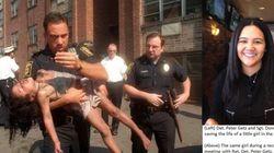 이 소녀는 18년 전 한 경찰관 덕분에 목숨을