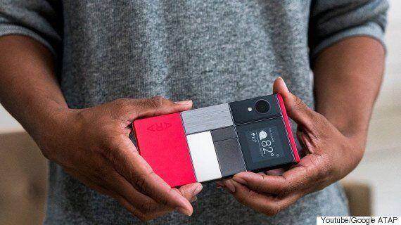 구글 조립식 스마트폰 '아라' 실물이 가을에 드디어