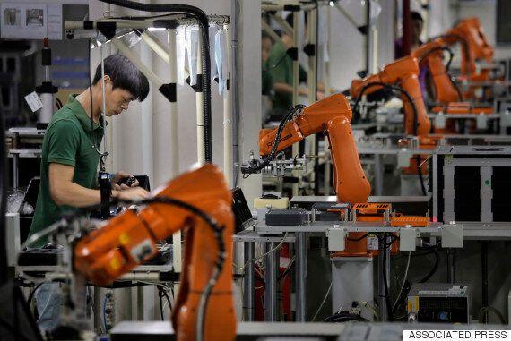 한국은 로봇에 뺏길 위험 큰 일자리 비율이 OECD에서 가장 낮은 나라다