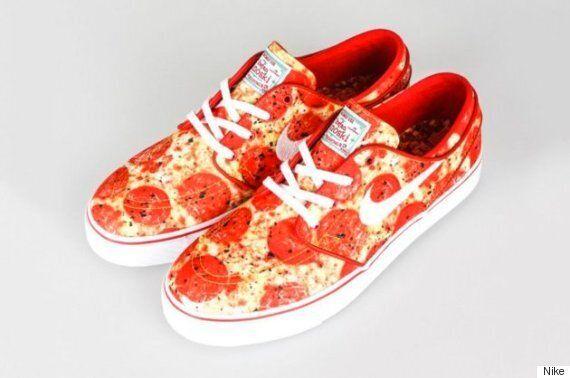 나이키가 '피자 덕후'들을 위한 신발을 공개했다