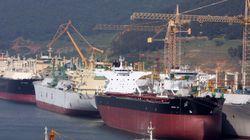 중국이 조선업 구조조정을 서두를 동안 한국은 '빅4' 중 하나가 법정관리에