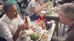 오바마, 하노이에서 7천원짜리 쌀국수를